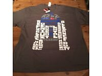 STAR WARS Mens 'R2-D2' T-shirt XXL