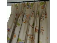 A pair of curtains for nursery or children bedroom