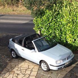 W Reg. (2000) VW Golf Cabriolet 1.6 SE Automatic Petrol