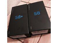 BRAND NEW SAMSUNG S8 & S8 Plus 64GB