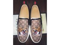 Authentic Gucci Tiger slip-on Sneakers | Prada, Supreme, Louis Vuitton, MCN |