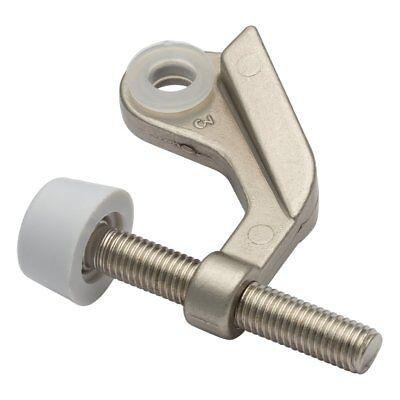 Box of 50- Satin Nickel Door Saver-Hinge Pin Door Stops- #30693 ()