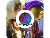 RAVEN LOCKS- Professional loctian available for Installs, extentions, tidy-ups, stealths & more.