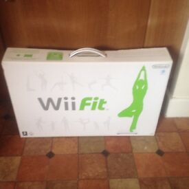 Nintendo wii fit brand new for sale