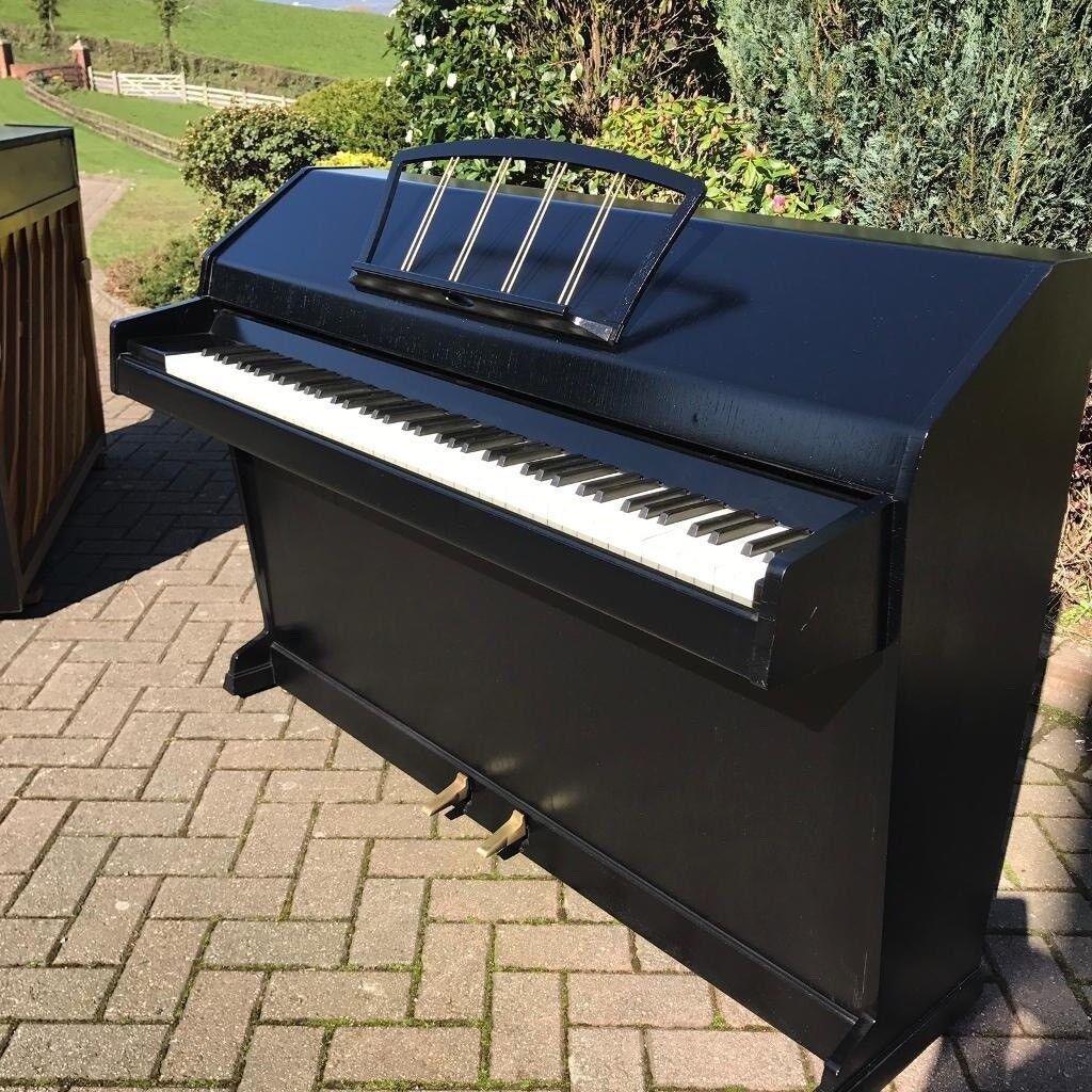 Eavestaff mini-piano Black |Belfast Pianos | Free Delivery|