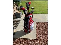 Golf Clubs and Bag Junior Size
