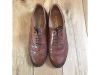 Russell & Bromley Ladies Brown Brogues Size 6