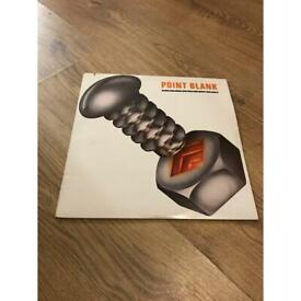 "Point blank the hard way 1980 12"" vinyl record album"
