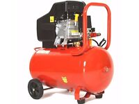 24 LITRE 115 PSI 2850 RPM 8 BAR TWIN OUTLET 2HP ELECTRIC AIR TOOL COMPRESSOR NEW