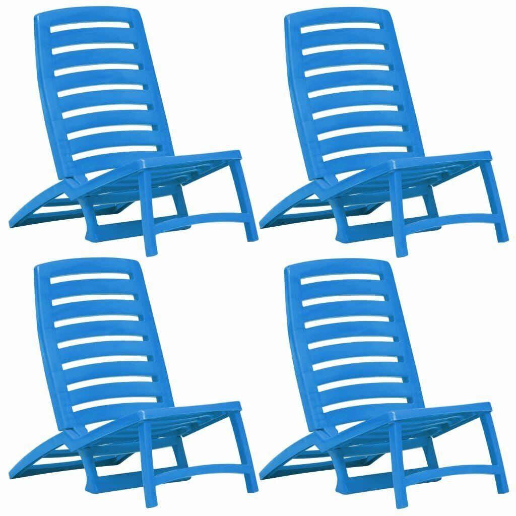 Fantastic Folding Beach Chair 4 Pcs Plastic Blue In Victoria London Gumtree Gmtry Best Dining Table And Chair Ideas Images Gmtryco