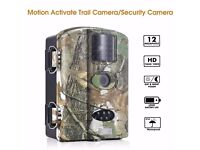 "Trail Camera-Vizzlema 12MP 1080P HD Black LED with 2.4"" LCD Display ( Free 8GB CARD)"