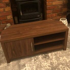 Next walnut effect TV cabinet