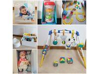 Kids/baby toys under £10
