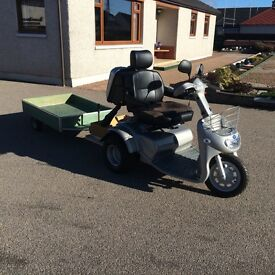 As New TGA Breeze 3 Mobility Scooter