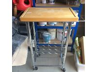 Kitchen trolley. space saver