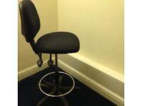 adjustable high office seat