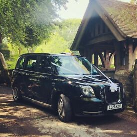Wedding Taxi - An Iconic Electric London Black Taxi wedding car hire