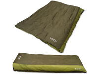 4 Season Double Sleeping Bag - Quad Layer Envelope - Brand New!