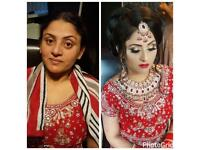 Asian bridal party hair and makeup artist. Make up offers