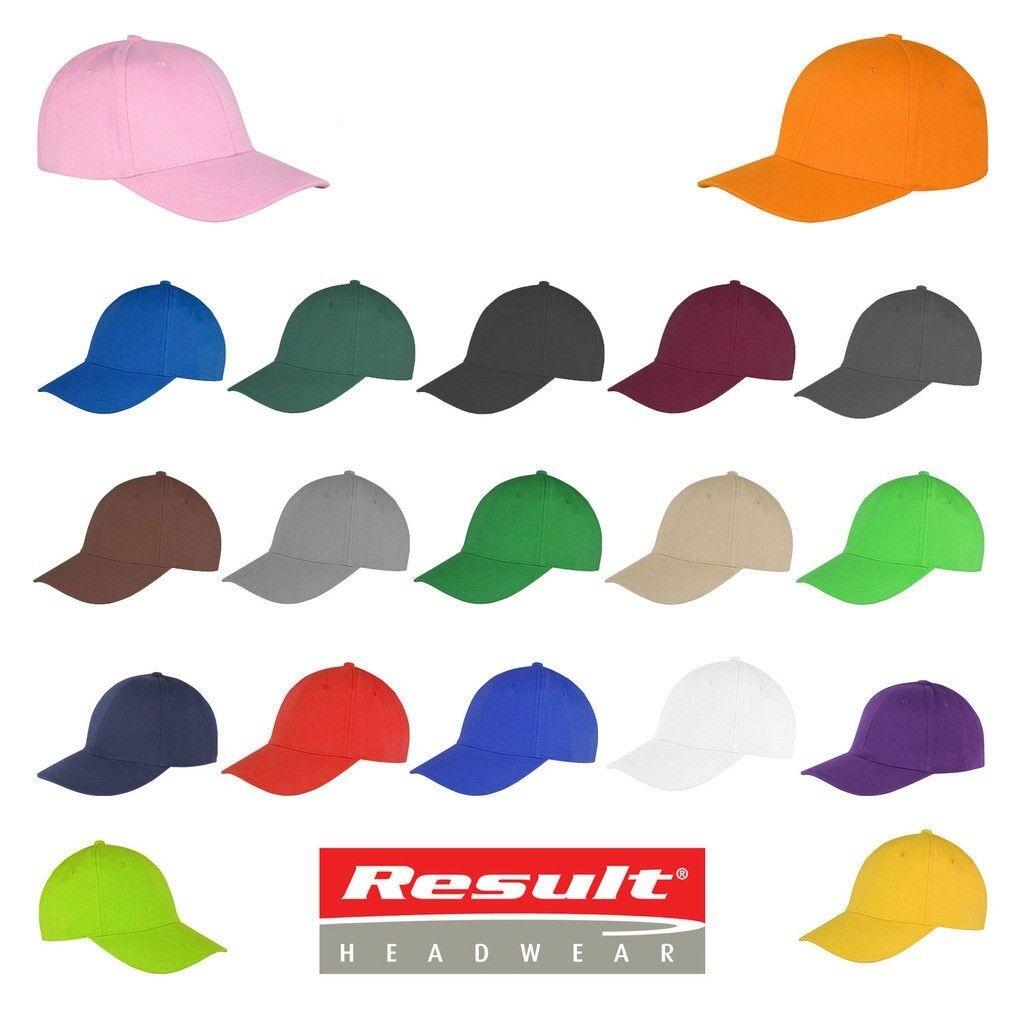 Baseball Cap With Classic Adjustable Fastener Boys Girls Mens Ladies Summer Hat