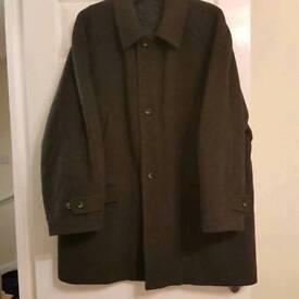 Gentleman's Marks and Spencer's pure wool coat