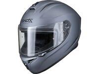 Shox Sniper Evo Full Face Motorbike Motorcycle Scooter Crash Helmet XXL