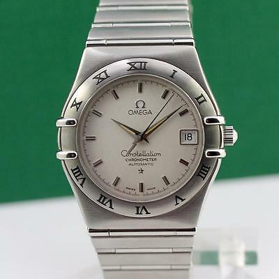 OMEGA CONSTELLATION CHRONOMETER STAINLESS STEEL AUTOMATIC DATE MEN'S WATCH
