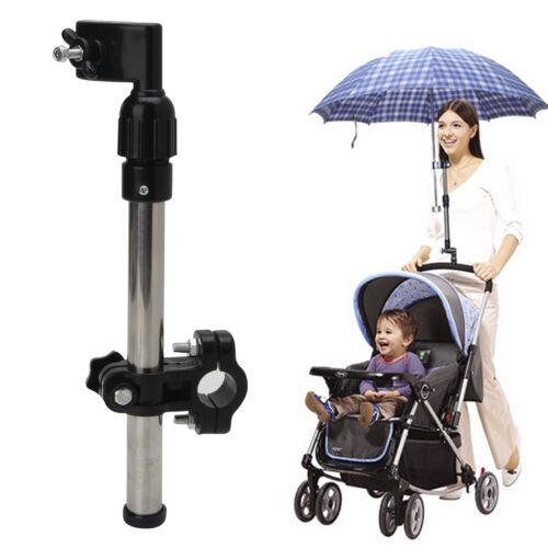 Useful Baby Buggy Pram Stroller Umbrella Holder Mount Stand Handle New