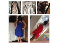 Dresses/play suit - see description for individual prices