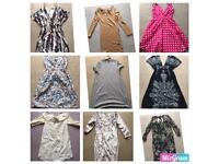 Bundle joblot of women's dresses to fit size 10