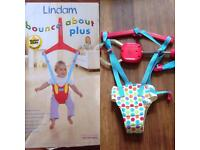 Lindam bounce and about plus and Chad Valley Bouncer