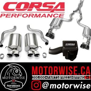 Corsa Exhaust & Performance Parts | Shop & Order Online at www.motorwise.ca | Free Shipping Canada Wide