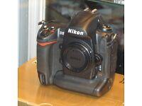 Nikon D3 BODY - Excellent condition