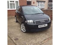 EXCELLENT CONDITION AUDI A2 SPORT WITH FULL SERVICE HISTORY INCLUDING INVOICES - LADY OWNER