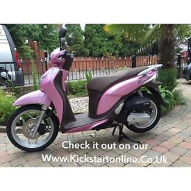 Honda anf125 mode mint scooter no miles never used finance free helmet £1999