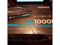 Corsair Hx1000i High Performance Series 80 Plus Platinum Atx Power Supply Unit NEW/SEALED