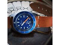 Squale 1521 Satinato Limited Edition Professional Diver Watch