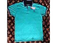FERRARI T-shirt short sleeve Green or Red