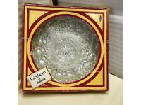 Vintage Luxhem de Veropa 5 Section hors d'oeuvres Glass Dish