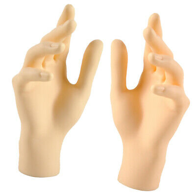 A Pair Of Female Hands Mannequin Women Display Plastic Model Skin Color Left