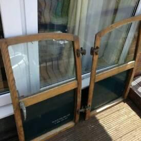 Morris Traveller complete Rear Doors