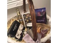 Hamper basket 'For Him' - perfect Christmas gift for the men in your life!