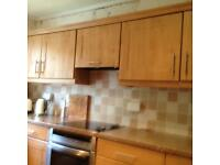 Complete Kitchen Doors Drawer Fronts in Beech and Ceramic Hob