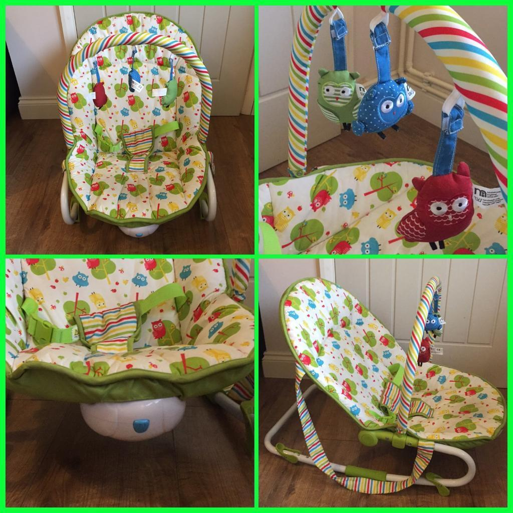Mothercare owl 2 in 1 rockerbouncer in guildford surrey gumtree mothercare owl 2 in 1 rockerbouncer negle Images