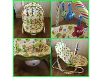 Mothercare owl 2 in 1 Rocker/bouncer