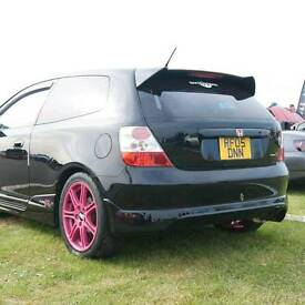 High spec Honda EP3 Civic Type R px/swap