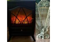Electric wood burner style fire