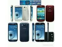 Brand New Orignal Samsung Galaxy S3 Uk Stock GT-I9300-16GB-Black,White(Unlocked)With Warranty