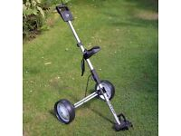 Dunlop Microfold Lightweight Compact Golf Trolley – new, unused.