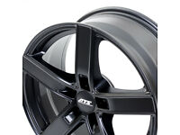 "ATS Emotion brand new Alloy wheels 18"" inch x 8j 5x114.3 matt black alloys wheel 5x114 5 x 114.3"